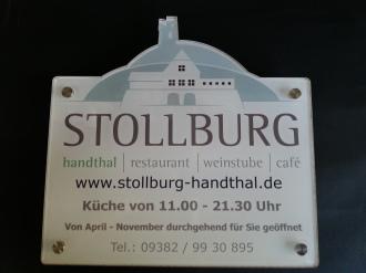 Werbeschilder Gerolzhofen