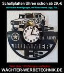 Schallplatten Uhren, Wächter Geo